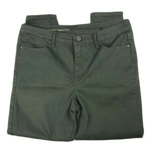 Talbots Flawless High Waist Jegging Ankle Green